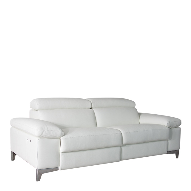 Santoro - 2.5 Seat Sofa With Power Recliners In Leather