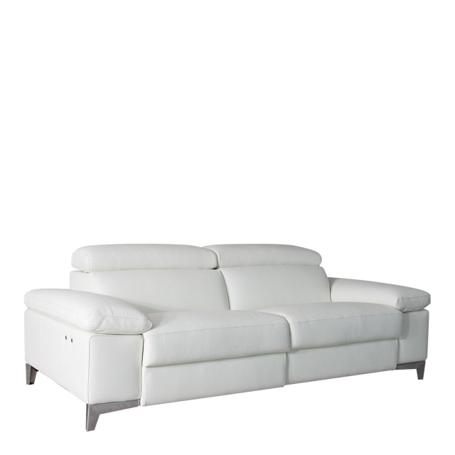 Santoro - 3 Seat Sofa With Power Recliners In Leather