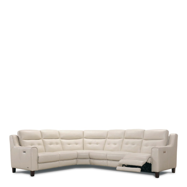 Caserta - Corner Group 2 Seat LHF, Corner,Armless,2 Seat RHF With Power Recliners In Leather