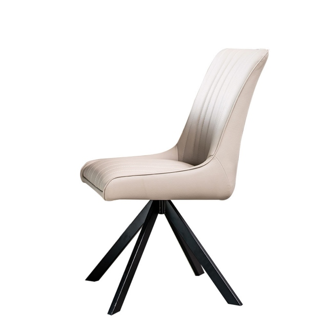 Oakwood - Dining Chair In Taupe Fabric