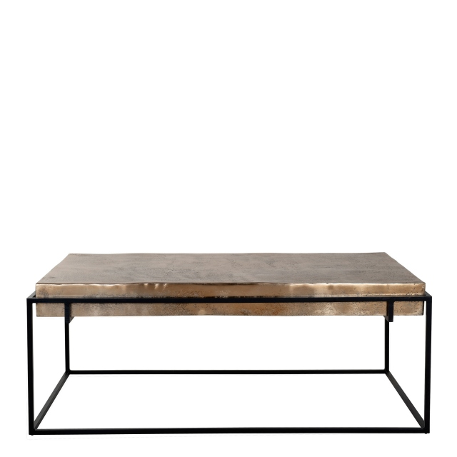 Fairway - Coffee Table Champagne Finish