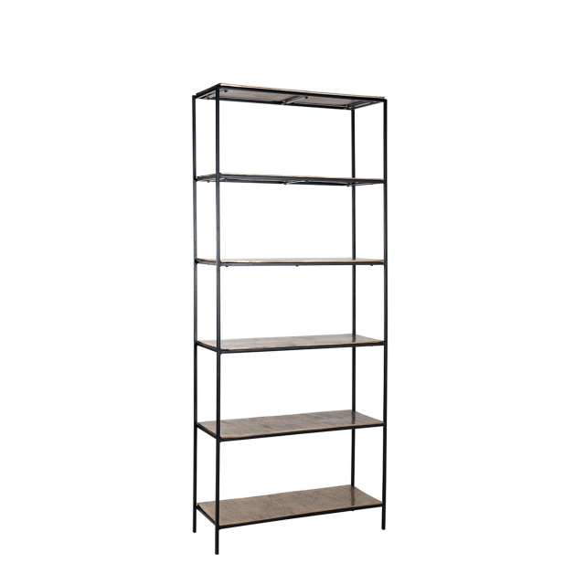 Fairway - Bookcase Champagne Finish