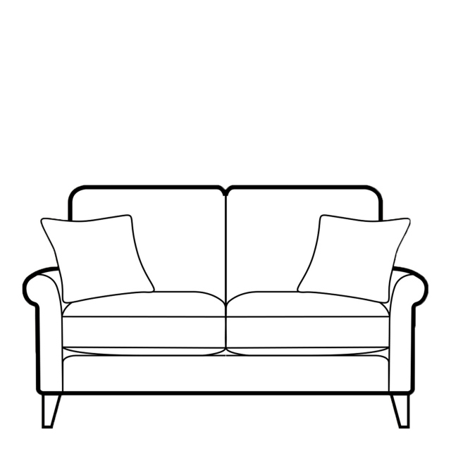Milly - 2 Seat Sofa In Fabric