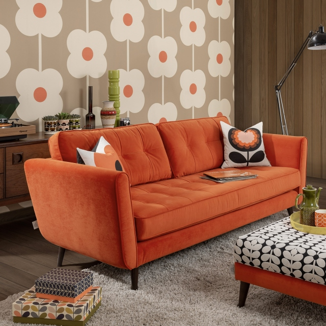 Orla Kiely Ivy - Small Sofa In Fabric