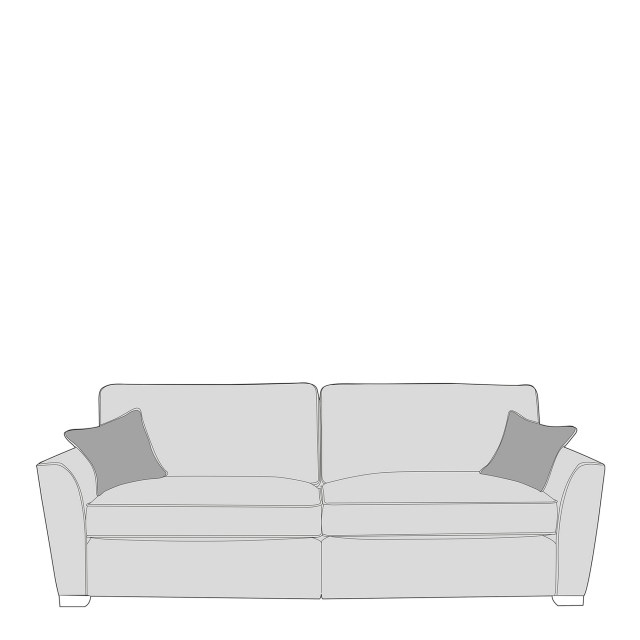 Dallas - Standard Back 4 Seat Modular Sofa