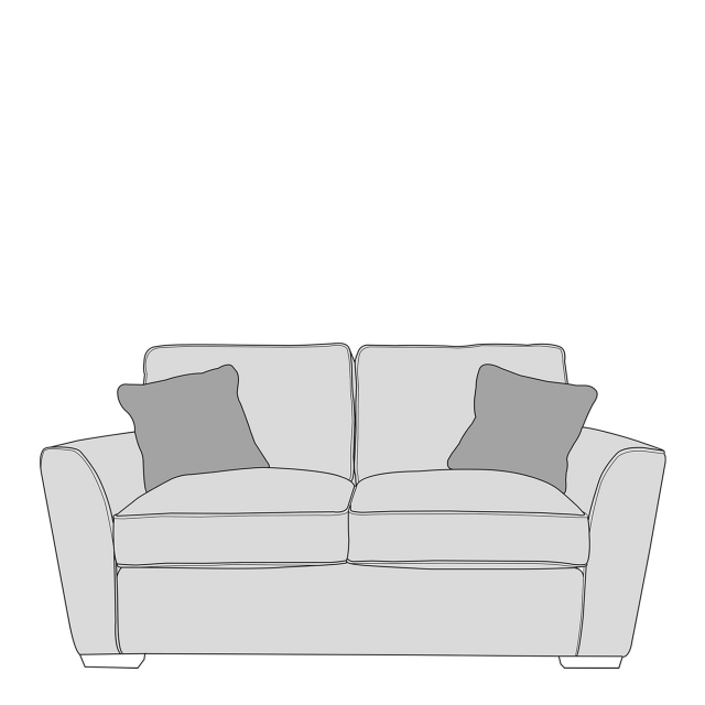 Dallas - Standard Back 2 Seat Sofa