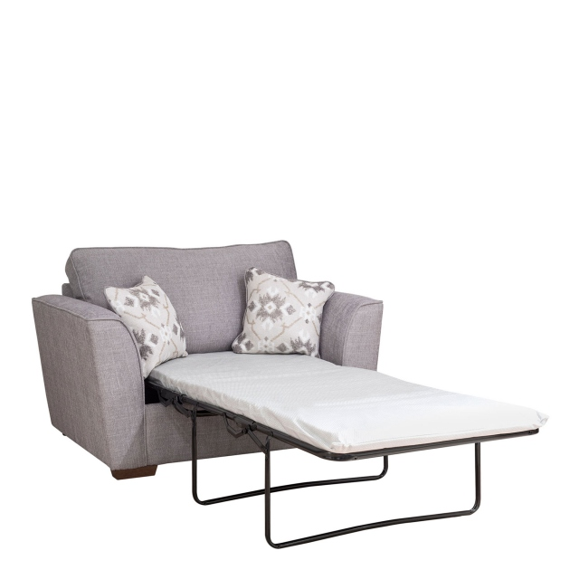 Dallas - Standard Back 1 Seat Sofabed (80cm) With Standard Mattress
