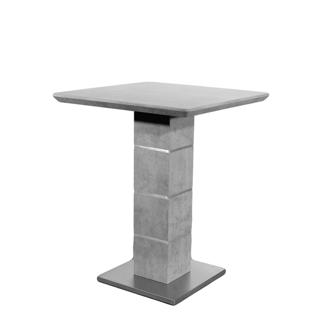Indus - Bar Table Concrete Effect Finish