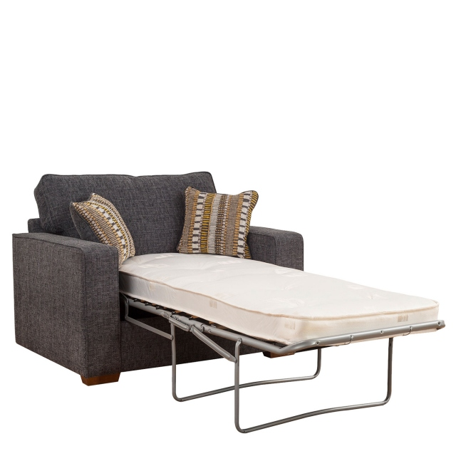 Layla - Standard Back 1 Seat Sofa Bed (80cm) With Standard Mattress