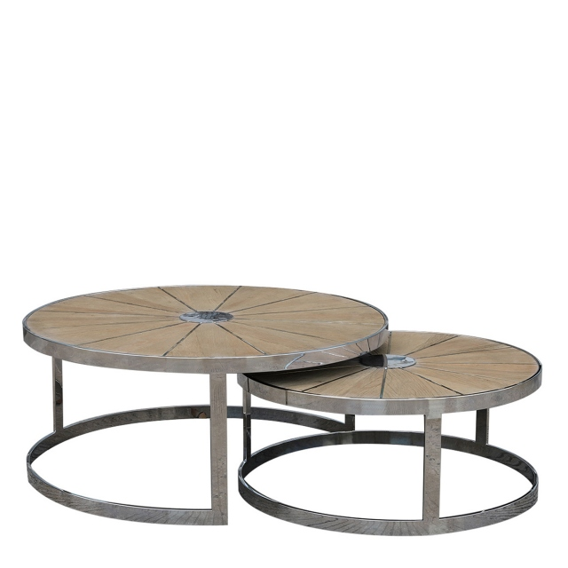 Georgetown - 220cm Dining Table Smoky Grey/Shiny Steel With 6 Kentucky Beige Chairs