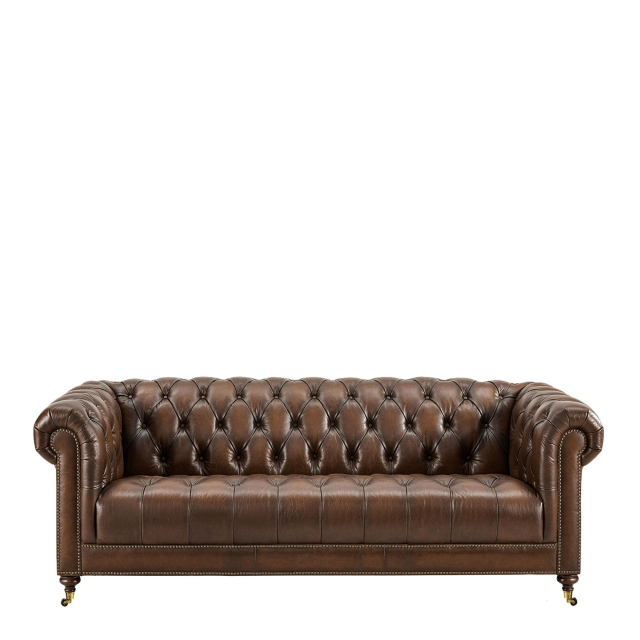 Churchill - 4 Seat Sofa In Leather