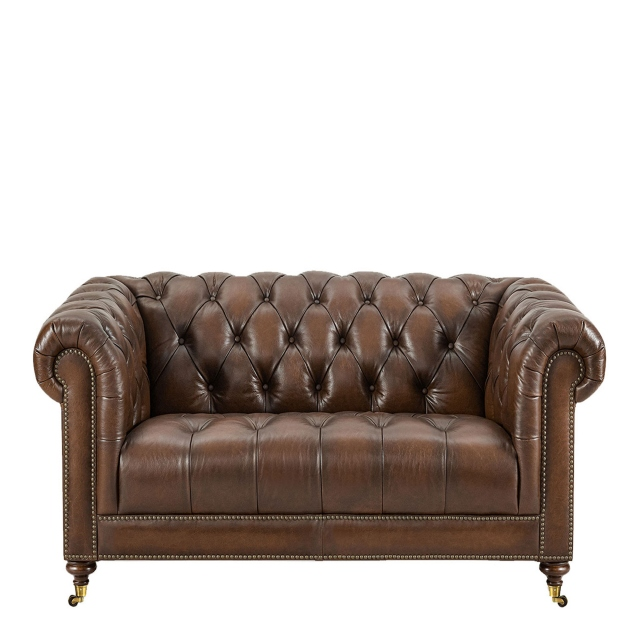 Churchill - 2 Seat Sofa In Leather
