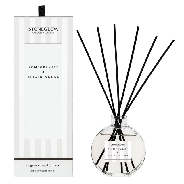 Modern Classics Pomegrante & Spiced Woods Reed Diffuser