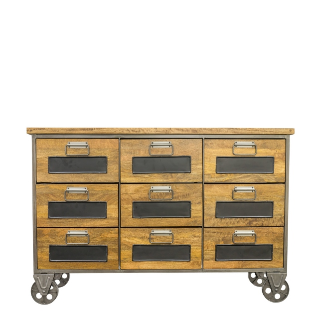 Brunel - 9 Drawer Apothecary Chest