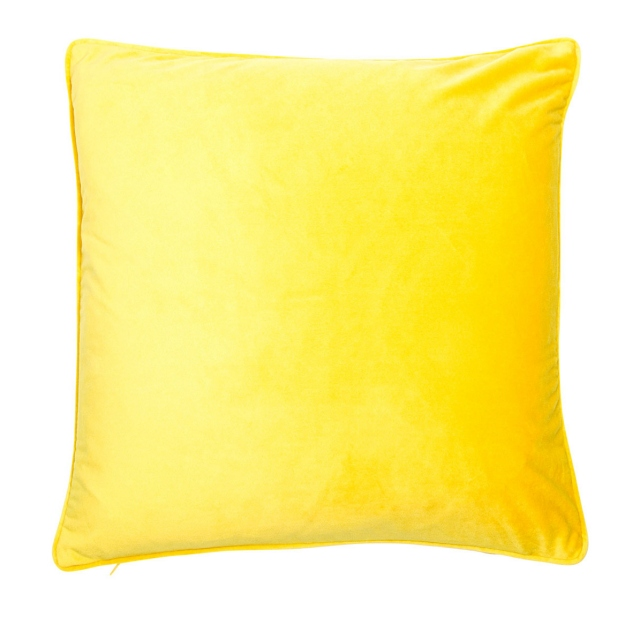 Regal Velvet Cushion Mustard
