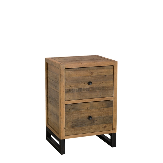 Delta - 2 Drawer Filing Cabinet