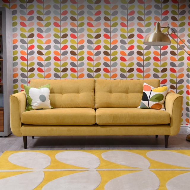 Orla Kiely Linden - Medium Sofa In Fabric