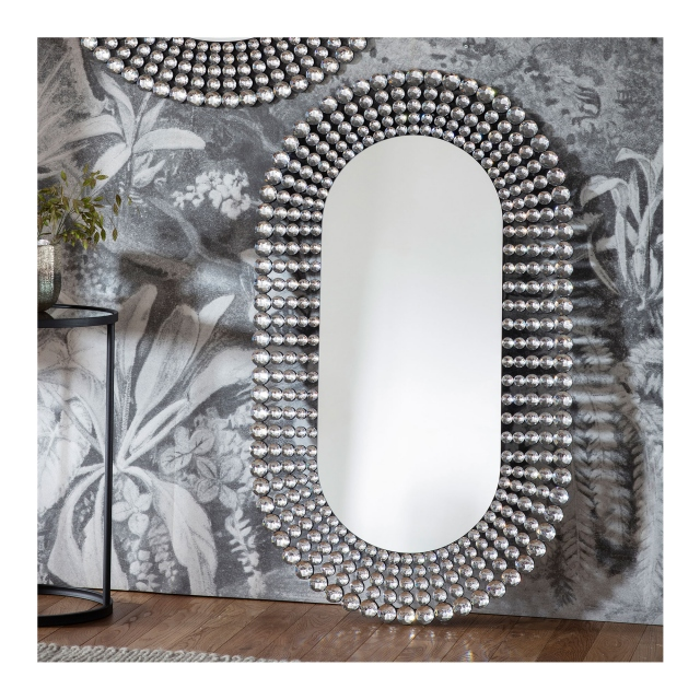 Corvus Oval Mirror