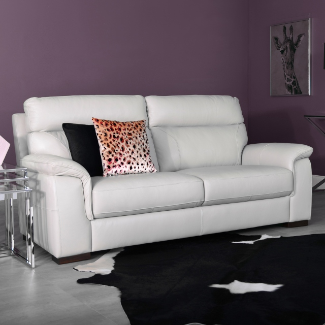 Sorrento - Footstool In Leather