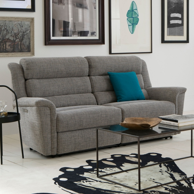 Parker Knoll Colorado - Large 2 Seat Sofa With Double Power Recliners & USB Ports In Fabric