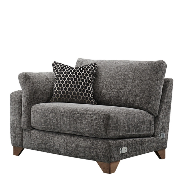 Linara - Large Static End Sofa LHF Arm