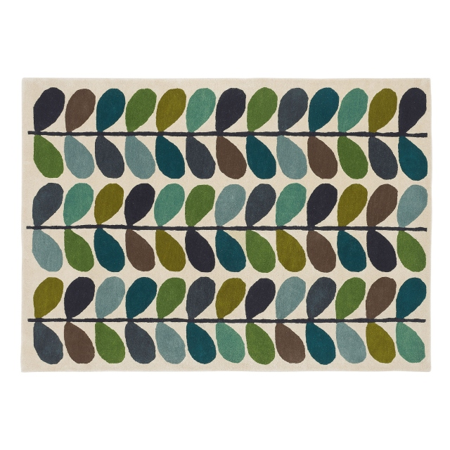Orla Kiely Rug Multi Stem Kingfisher 059507