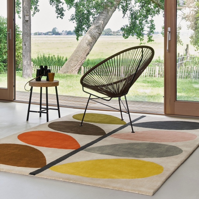 Orla Kiely Rug Giant Multi Stem 59205