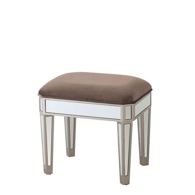 Ruby - Mirrored Stool
