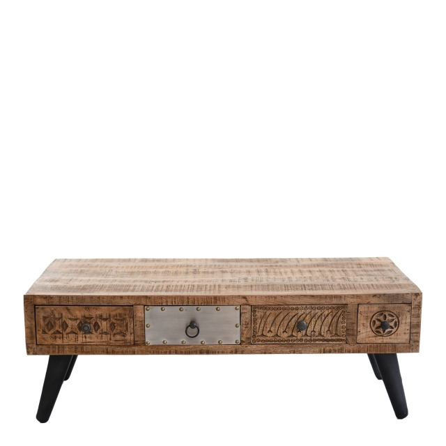Agra - 4 Drawer Coffee Table