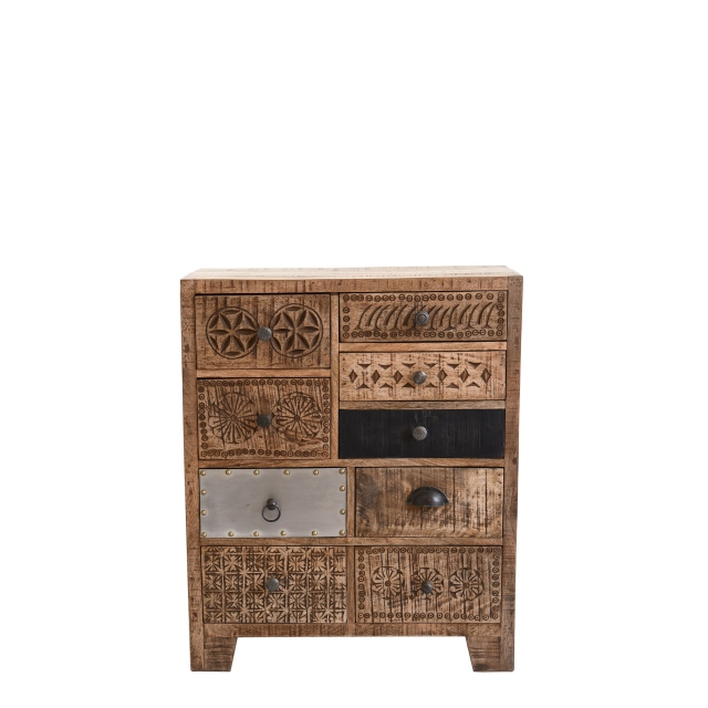Agra - 9 Drawer Chest
