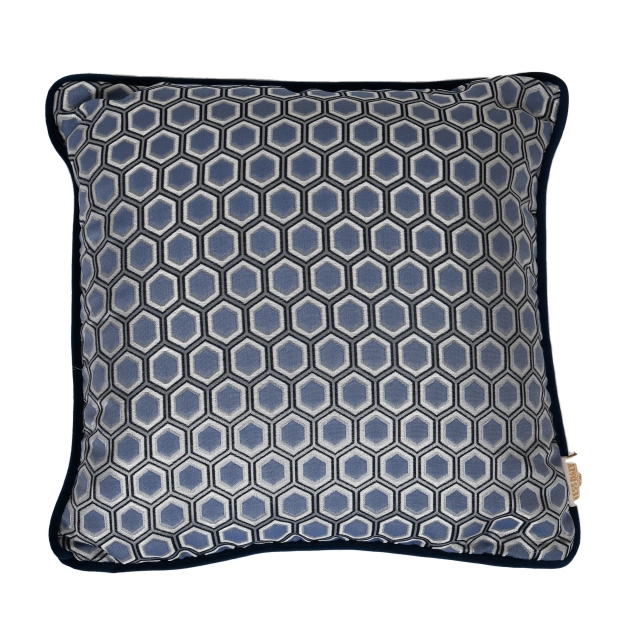 Tess Daly Hexagon Cushion Midnight