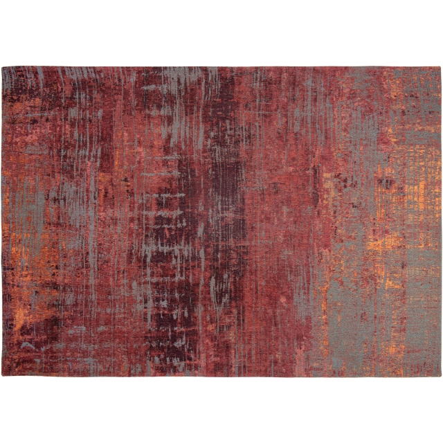 Atlantic Collection Streaks Rug Nassau Red 9125