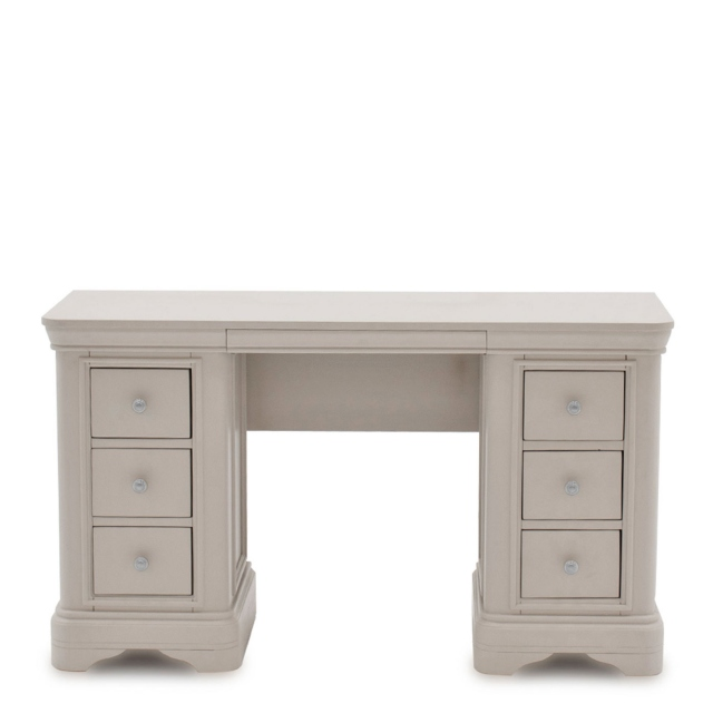 Avignon - Dressing Table Taupe Painted Finish