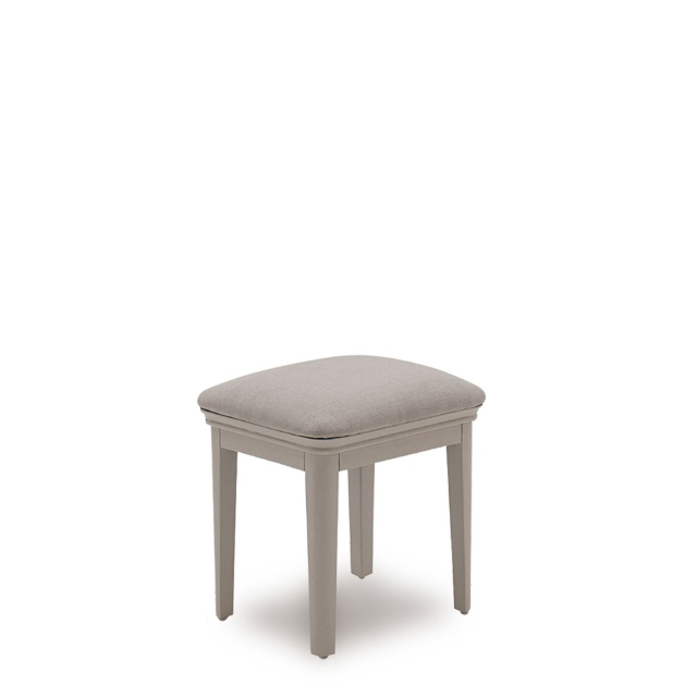 Avignon - Dressing Stool Taupe Painted Finish