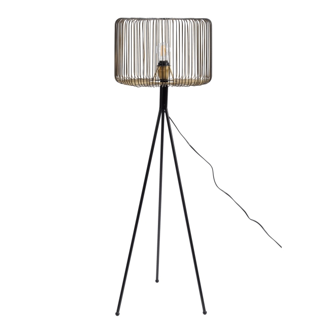 Boros Floor Lamp - Brass