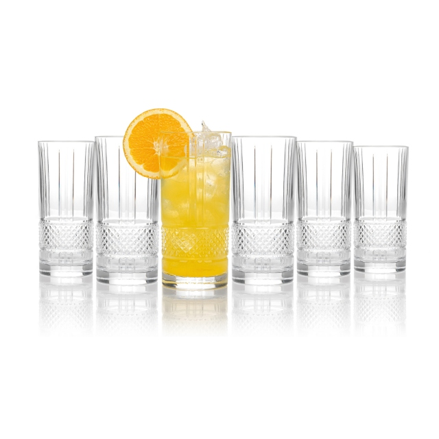 RCR Brillante Hi Ball Tumbler Set of 6