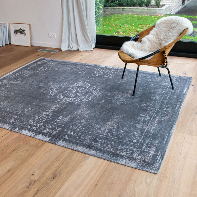 Fading World Medallion Rug Stone 9148