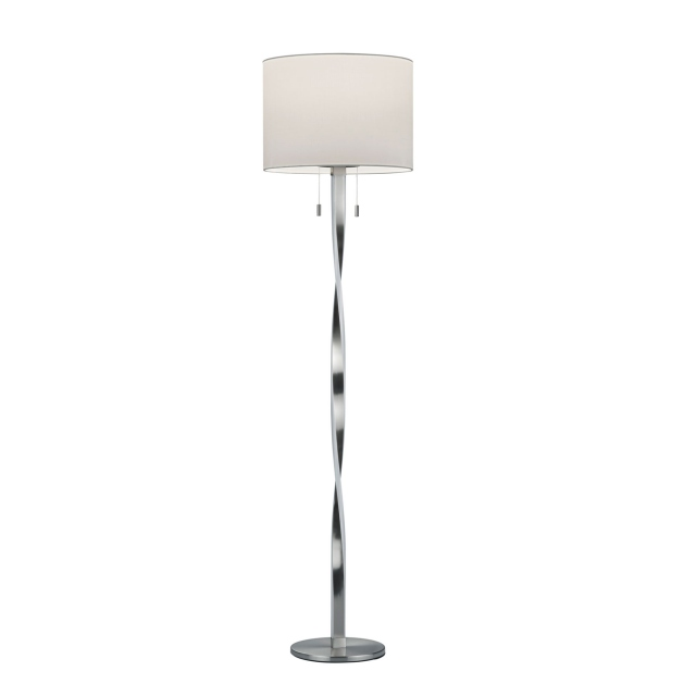 Twin LED Floor Lamp