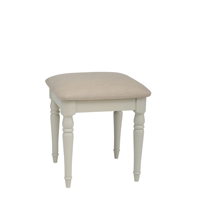 Oliver - Dressing Stool Morning Dew/F1/1 Fabric Seat