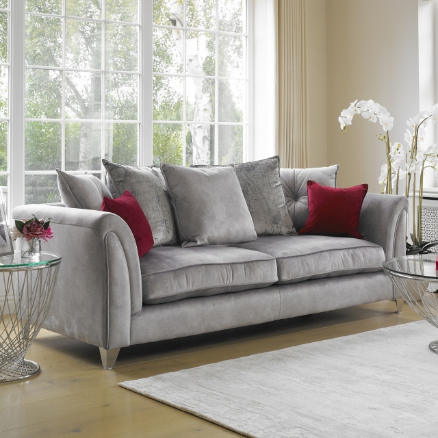 Vesper - Pillow Back 4 Seat Sofa