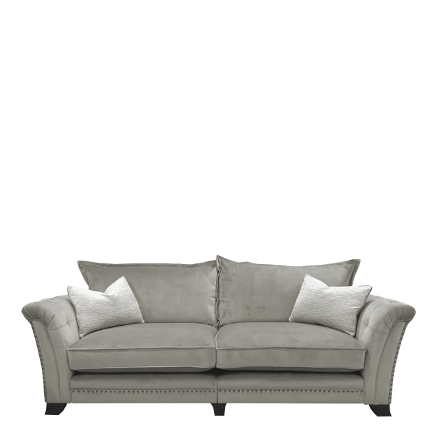 Gabriella - Standard Back 4 Seat Split Sofa In Fabric Band 1