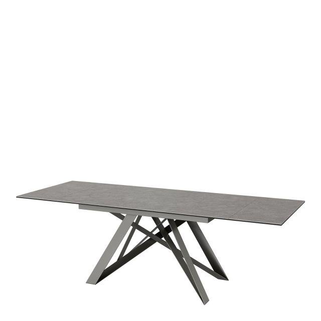 Valentini - Grey Ceramic Extending Dining Table