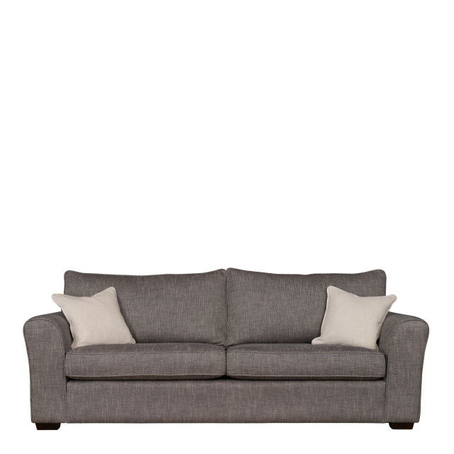 Collins & Hayes Heath - Fixed Cover Large Sofa In Fabric Grade E