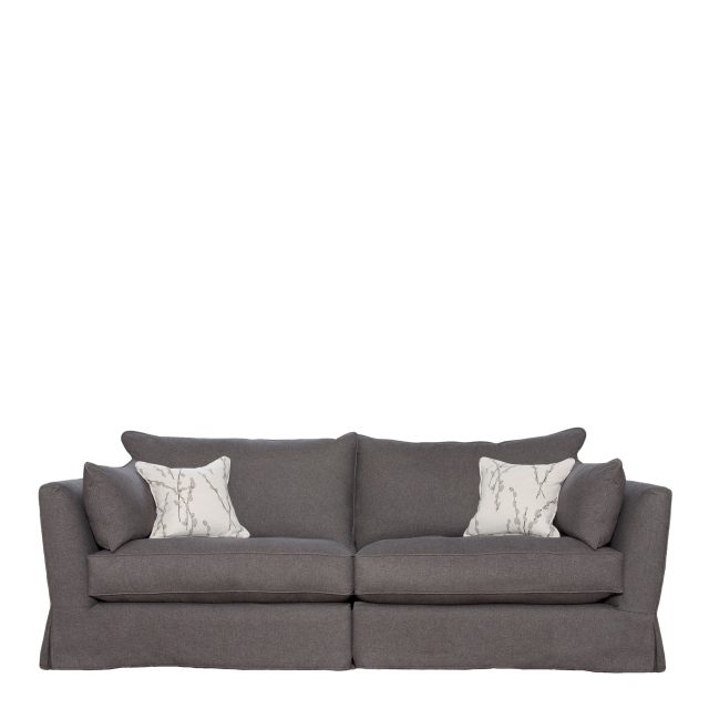 Collins & Hayes Maple - Loose Cover Standard Back Grand Sofa In Fabric