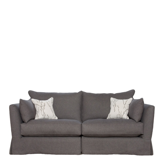 Collins & Hayes Maple - Loose Cover Standard Back Medium Sofa In Fabric Grade E