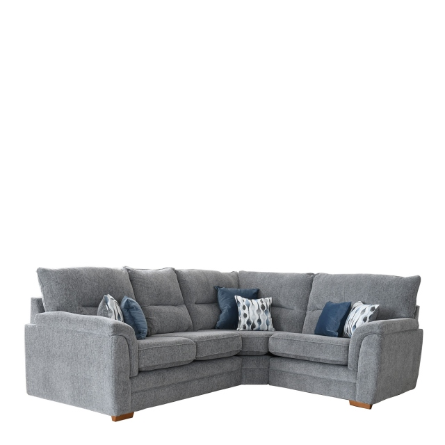 3 Seat LHF Arm Corner 1 Seat RHF Arm Sofa Group In Fabric Augusta - Grace