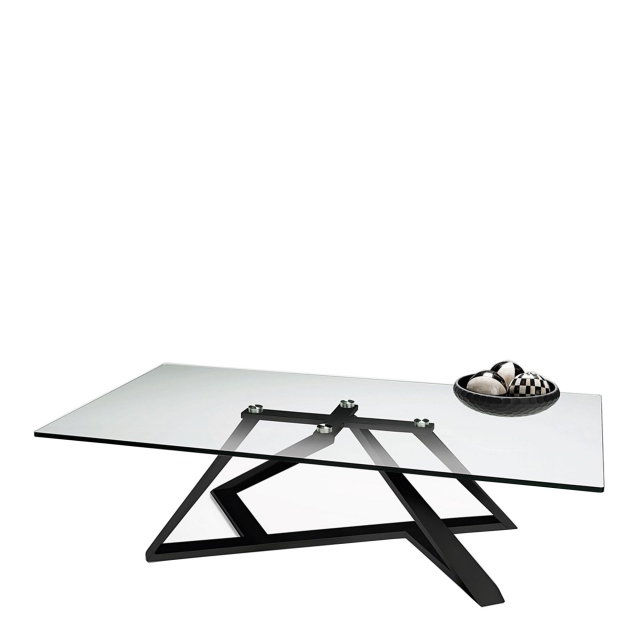 Leo - Coffee Table In Black