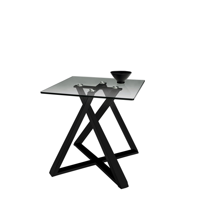 Leo - Lamp Table In Black