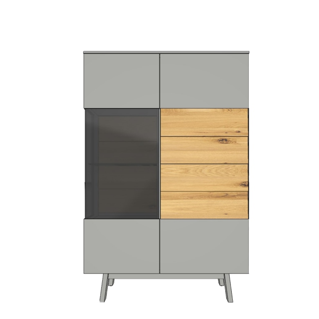 Verona - HB2 Highboard Element with Base Panel