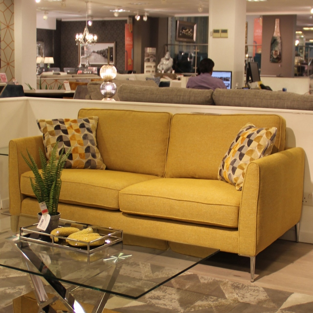 Vincenzo - 2 Seat Sofa In Grade BSF20 Fabric TX1226 Teal